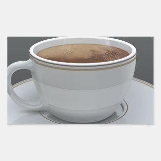 Coffee Rectangular Sticker