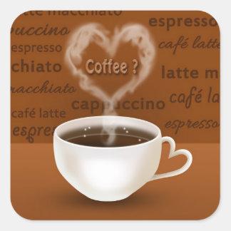 Coffee? - Sticker