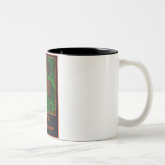 COFFEE  Stimulate Your Neurons! Two-Tone Coffee Mug