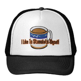 Coffee Stimulation Trucker Hat