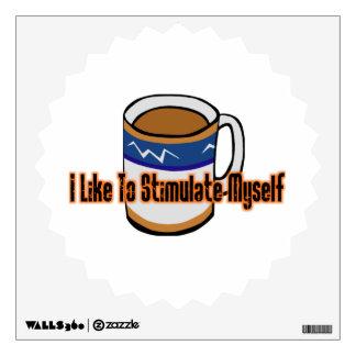 Coffee Stimulation Wall Decal
