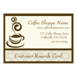 Coffee Store Punch Cards