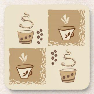 Coffee Stylish Cork Coaster