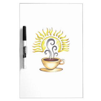 COFFEE SUNRISE Dry-Erase BOARDS