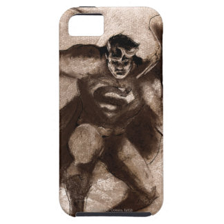 Coffee Superman iPhone SE/5/5s Case