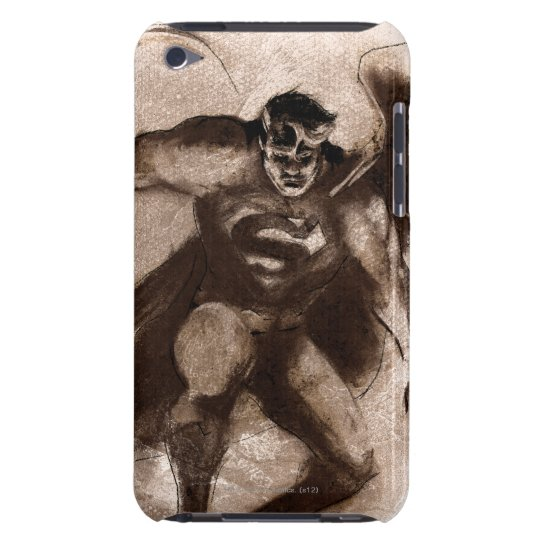 Coffee Superman iPod Touch Case
