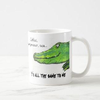 Coffee, Swampwater, tea.., It's all t... Coffee Mug