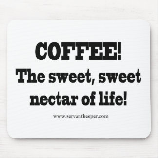 Coffee Sweet Nectar Mouse Pad