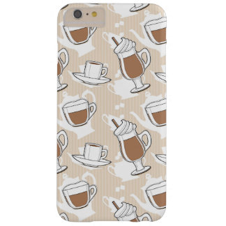 Coffee, sweet pattern barely there iPhone 6 plus case