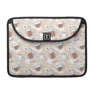Coffee, sweet pattern MacBook pro sleeve