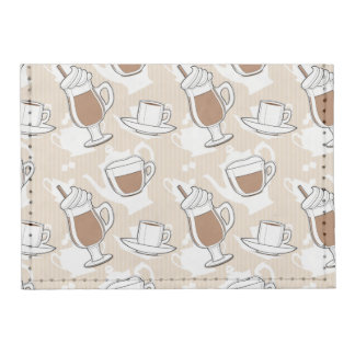Coffee, sweet pattern tyvek® card wallet