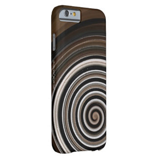 Coffee Swirl Barely There iPhone 6 Case