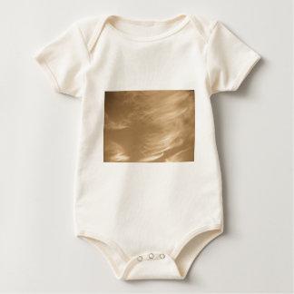 Coffee swirl Clouds Baby Bodysuit