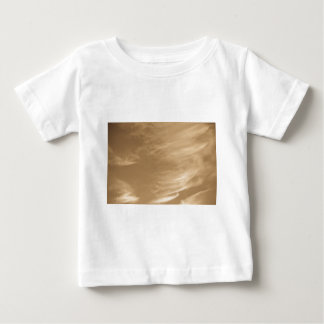 Coffee swirl Clouds Baby T-Shirt