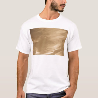 Coffee swirl Clouds T-Shirt