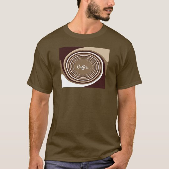 Coffee Swirl T-Shirt