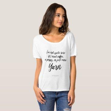 Coffee Themed Coffee T-Shirt