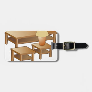 Coffee Table Lamp Furniture Icon Tags For Bags