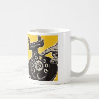 Coffee Talk Dial T For Telephone Coffee Mug