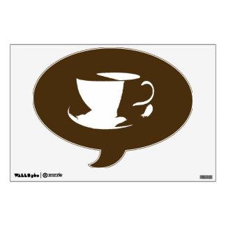 Coffee Talk Wall Decal