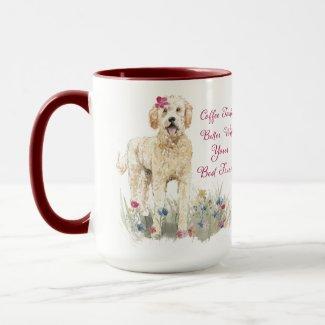 Coffee Tastes Better...Golden Doodle Edition Mug