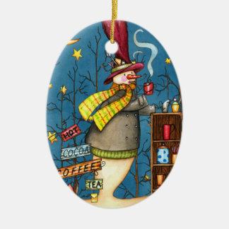 Coffee, Tea and Good Company Christmas Ornament