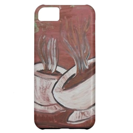 coffee? tea? cover for iPhone 5C