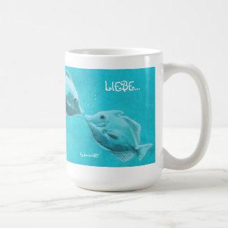 """Coffee/tea cup """"love """""""