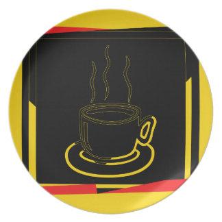 Coffee (Tea) cup Vintage - Plate