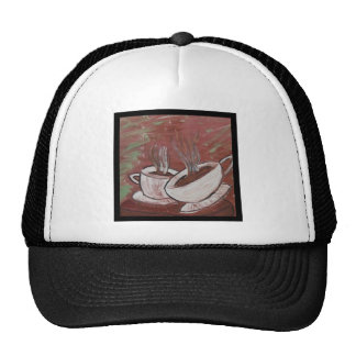 coffee? tea? trucker hats
