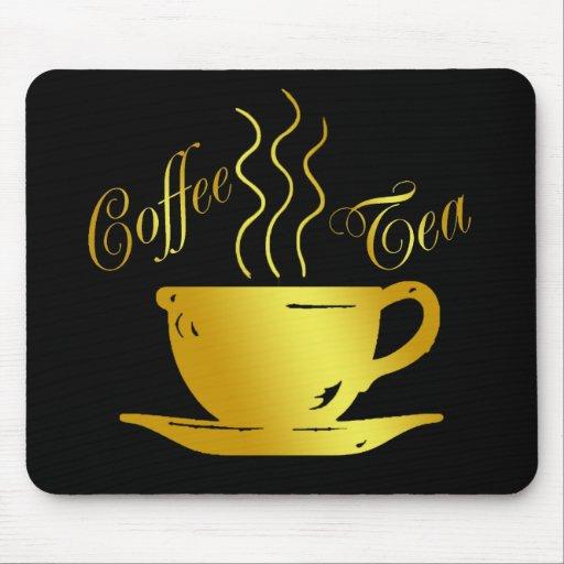 COFFEE & TEA MOUSE PAD
