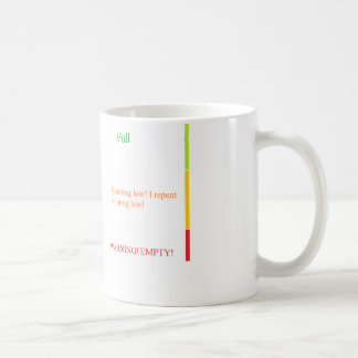 Coffee/Tea Mug funny measure indicatation