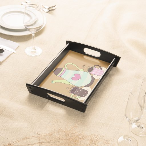 Coffee Tea Serving Tray