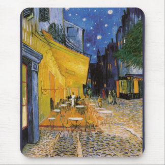 Coffee terrace AT Night Mouse Pad