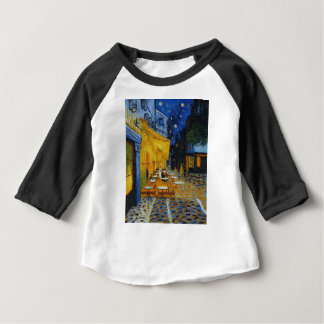 Coffee terrace harms it of Vincent Van Gogh Baby T-Shirt