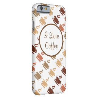 Coffee Theme iPhone 6 Case