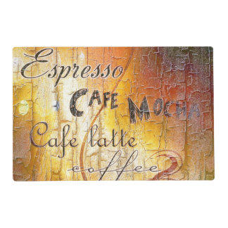 coffee theme placemat