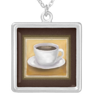 Coffee Themed Necklace