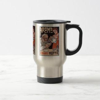 Coffee Thermos:  Coffee Ad: Aroma Vergangt Koffie Mug