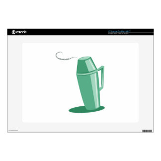 Coffee Thermos Laptop Decal