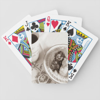 Coffee Time Bicycle Playing Cards
