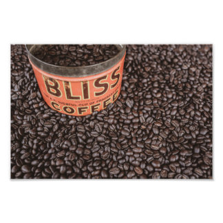 Coffee time bliss poster