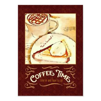 Coffee Time Caramel Macchiato Pumpkin Pie Teatime Announcements