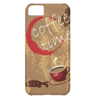 Coffee Time Cover For iPhone 5C
