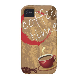 Coffee Time iPhone 4/4S Cases