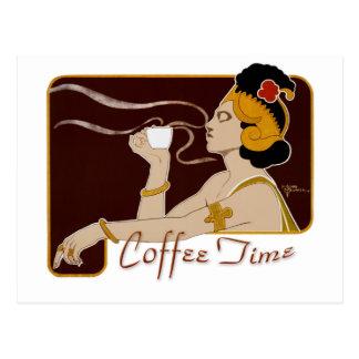 Coffee Time CC0222 Postcard