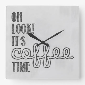 Coffee Time Clock