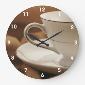 Coffee Cup design Wall Clock