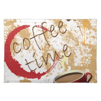 Coffee Time Cloth Placemat