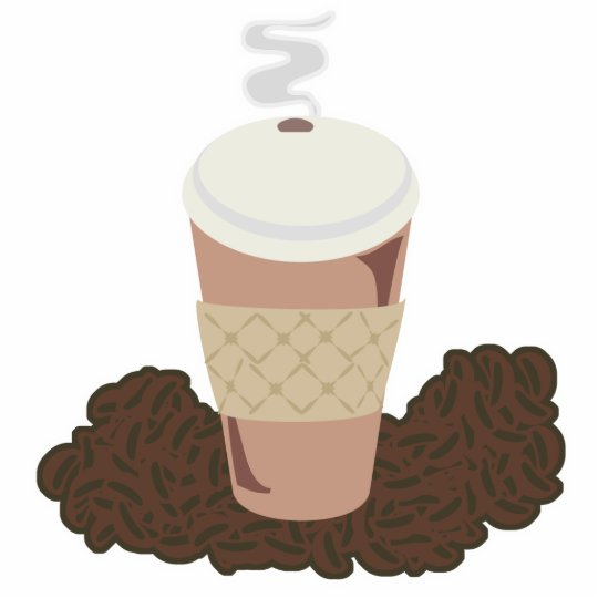 Coffee Time Cutout Sculpture